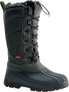 Buty zimowe Demar sznurowane w militarnym stylu