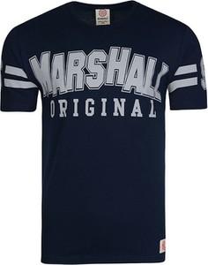 T-shirt Marshall Orginal z bawełny z krótkim rękawem w młodzieżowym stylu