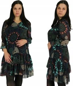 Sukienka Inna z szyfonu