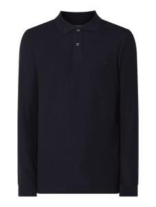 Granatowa koszulka polo Christian Berg Men z długim rękawem