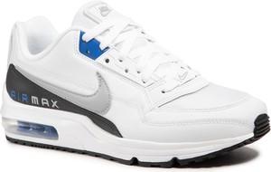 Buty sportowe Nike ze skóry sznurowane w sportowym stylu