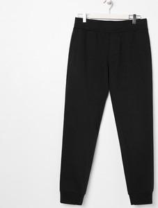 Czarne spodnie sportowe Sinsay z dresówki