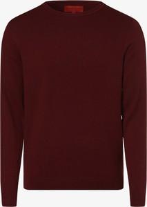 Czerwony sweter Finshley & Harding w stylu casual