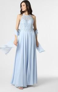 Sukienka Luxuar Fashion maxi z okrągłym dekoltem