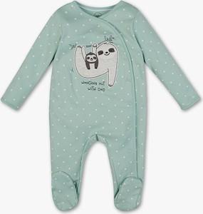 Miętowa piżama Baby Club dla chłopców
