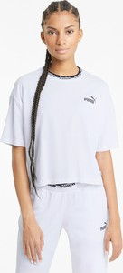 Bluzka Puma w sportowym stylu z okrągłym dekoltem