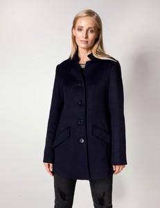 Płaszcz Molton z wełny w stylu casual