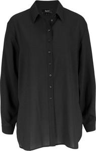 Czarna koszula bonprix