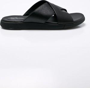 Czarne buty letnie męskie Clarks