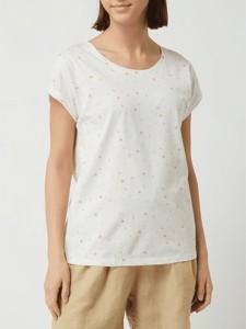 Bluzka Esprit z bawełny z okrągłym dekoltem