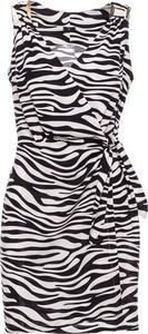 Sukienka Be bez rękawów z tkaniny mini
