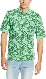 Zielona koszulka polo Casamoda