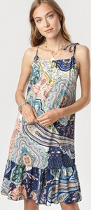 Sukienka born2be w stylu casual mini na ramiączkach