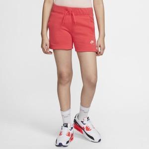 Czerwone spodenki dziecięce Nike