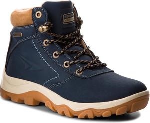 Buty trekkingowe Sprandi sznurowane z płaską podeszwą w sportowym stylu