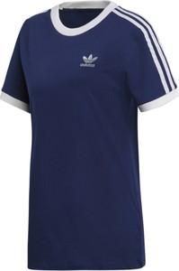 Niebieska bluzka Adidas