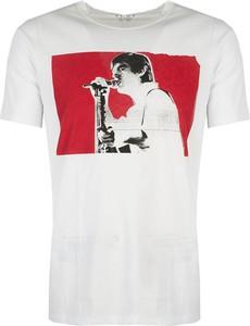 T-shirt ubierzsie.com z krótkim rękawem z nadrukiem w młodzieżowym stylu