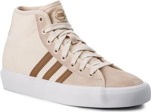 Buty adidas - Matchcourt High Rx B22785 Linen/Rawdes/Ecrtin