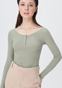 Bluzka Sinsay w stylu casual z okrągłym dekoltem
