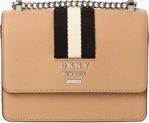 Torebka DKNY ze skóry w stylu glamour na ramię