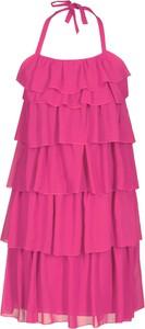 Sukienka Fokus mini z dekoltem halter