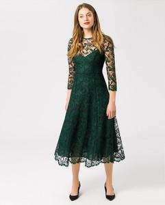 Sukienka Ivy & Oak z długim rękawem z okrągłym dekoltem