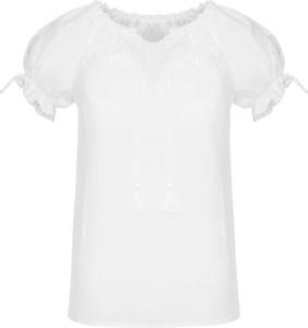 Bluzka JK Collection w stylu casual z krótkim rękawem