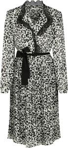 Sukienka Silvian Heach koszulowa mini z długim rękawem