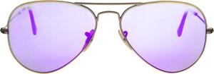 Fioletowe okulary damskie Ray-Ban