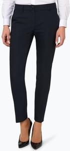 Granatowe spodnie Marie Lund