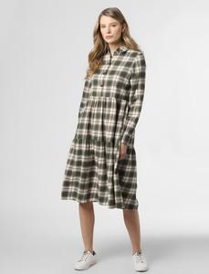 Sukienka Noisy May w stylu casual z długim rękawem z bawełny