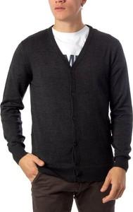 Czarny sweter Brian Brome w stylu casual