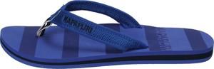 Niebieskie klapki Napapijri w stylu casual
