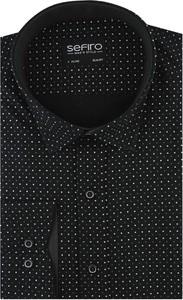 Koszula Sefiro z tkaniny z długim rękawem