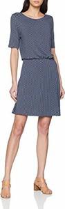 Sukienka amazon.de z okrągłym dekoltem trapezowa mini
