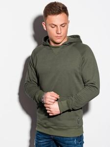 Zielona bluza Ombre w stylu casual