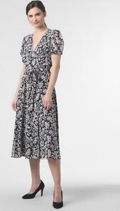 Sukienka POLO RALPH LAUREN midi z krótkim rękawem w stylu casual