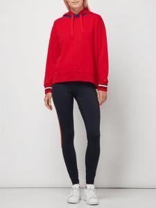 Czerwona bluza Tommy Hilfiger krótka