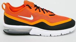 Pomarańczowe buty sportowe Nike Sportswear sznurowane
