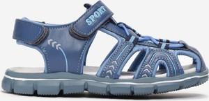 Niebieskie buty dziecięce letnie born2be