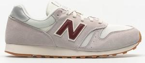 Buty sportowe New Balance sznurowane w sportowym stylu z zamszu