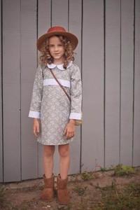 Sukienka dziewczęca Miss Melody z bawełny