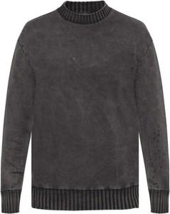 Sweter Diesel z okrągłym dekoltem z wełny