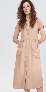 Sukienka Sinsay prosta z krótkim rękawem
