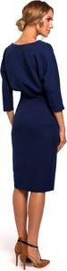 Sukienka MOE z tkaniny ołówkowa