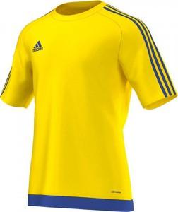 Żółta koszulka dziecięca Adidas