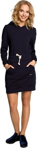 Sukienka MOE w stylu casual sportowa mini
