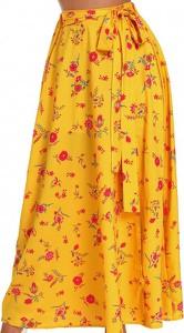 Żółta spódnica Elegrina