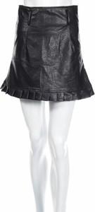 Czarna spódnica BooHoo w stylu casual mini