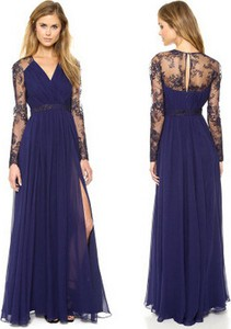 Niebieska sukienka Yaze
